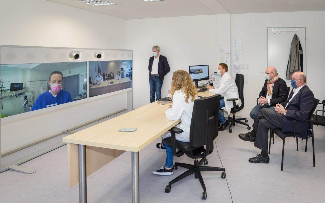 Pressekonferenz zum Virtuellen Krankenhaus am Universitätsklinikum Münster