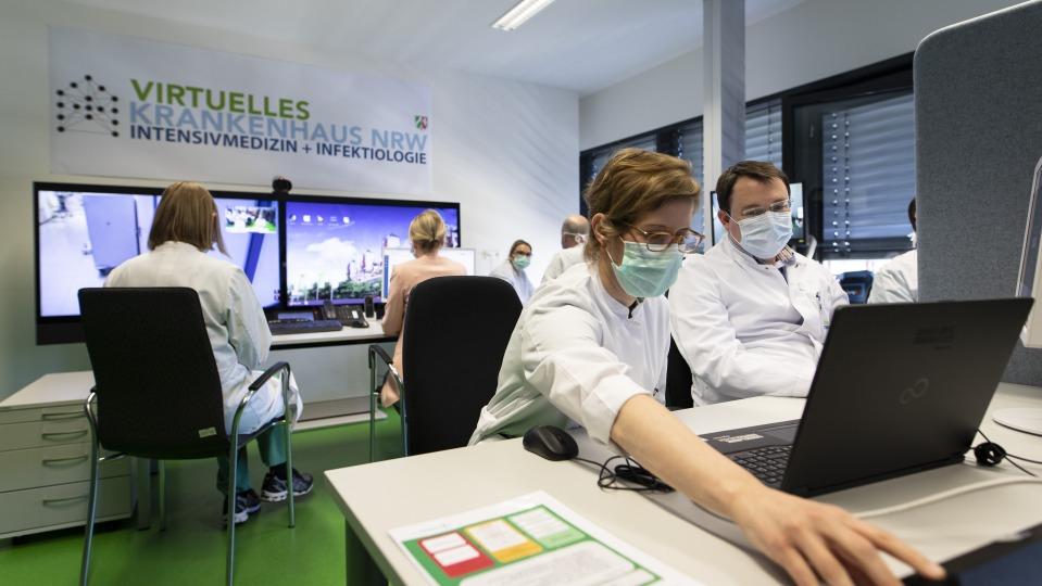 Telemedizin kommt an: Hohe Nachfrage nach Telekonsilen beim Virtuellen Krankenhaus Nordrhein-Westfalen