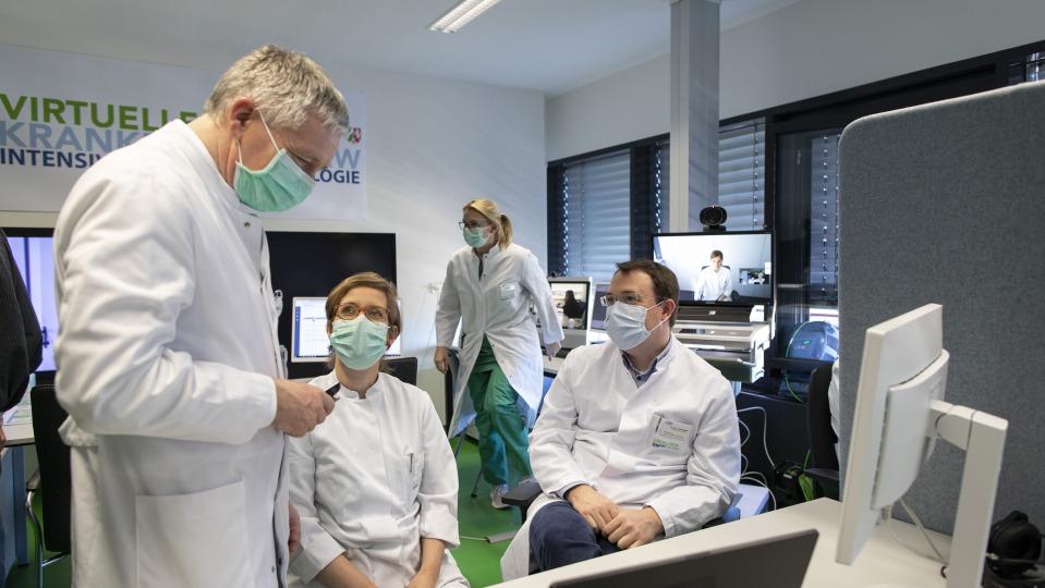 Minister Laumann: Unterstützung durch das Virtuelle Krankenhaus Nordrhein-Westfalen bei der Behandlung von Covid-19 wirkt